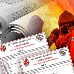 Certificado bombeiro